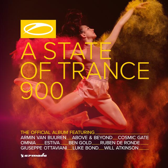 Album cover for A State Of Trance 900 (The Official Album) by Armin van Buuren