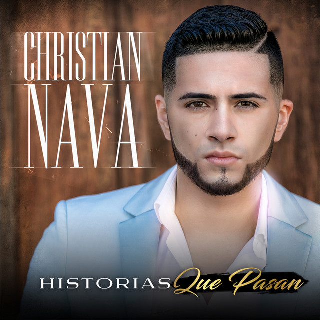 Album cover for Historias Que Pasan by Christian Nava
