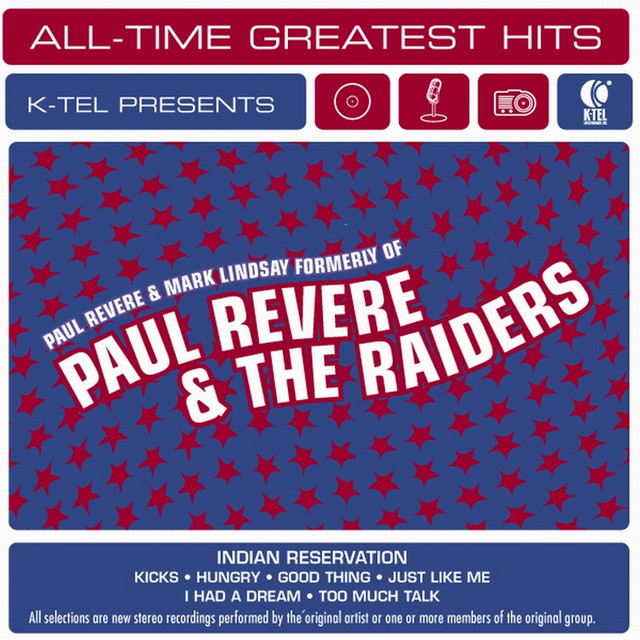 Paul Revere and Mark Lindsey formerly of Paul Revere & The Raiders Paul Revere and Mark Lindsey formerly of Paul Revere & The Raiders album cover