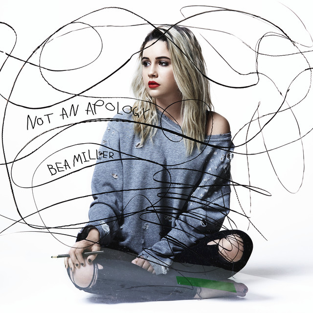 Bea Miller Not an Apology album cover