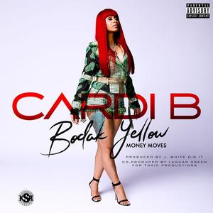 Cardi B Bodak Yellow cover