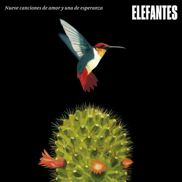 Album cover for nueve canciones de amor y una de esperanza by Elefantes