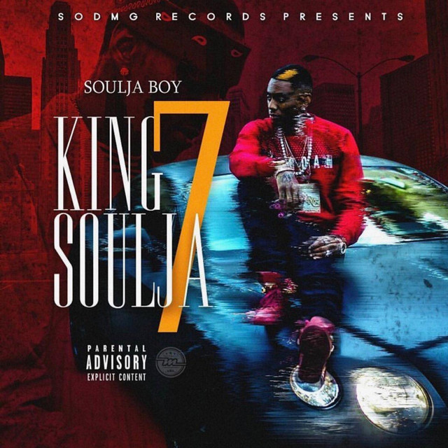Album cover for King Soulja 7 by Soulja Boy