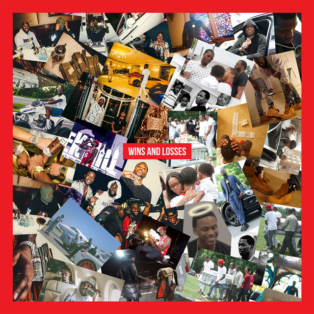 Album cover for Wins & Losses by Meek Mill