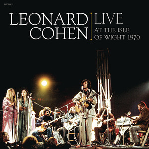Leonard Cohen Live at the Isle of Wight 1970 Albumcover