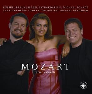 Mozart: Opera Arias and Duets Albumcover