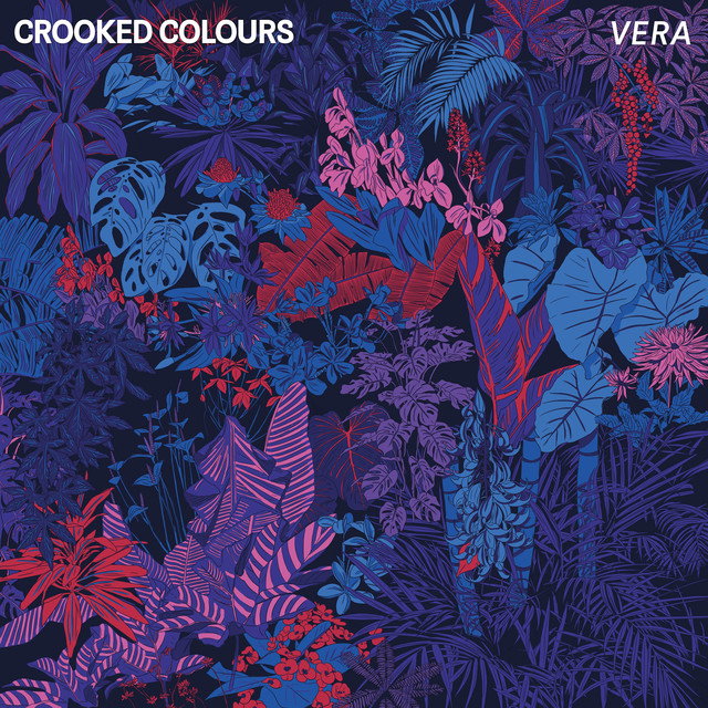 Album cover for Vera by Crooked Colours