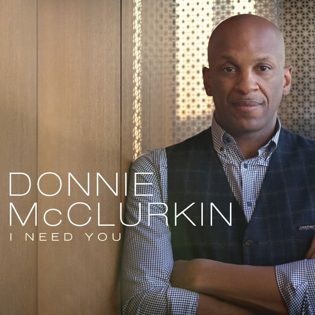 Donnie McClurkin I Need You (Live) album cover