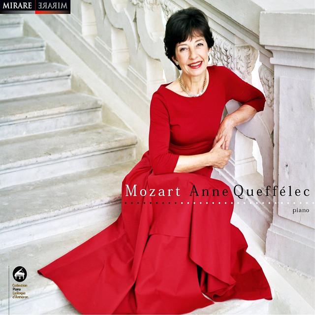 Mozart: Anne Queffélec Albumcover