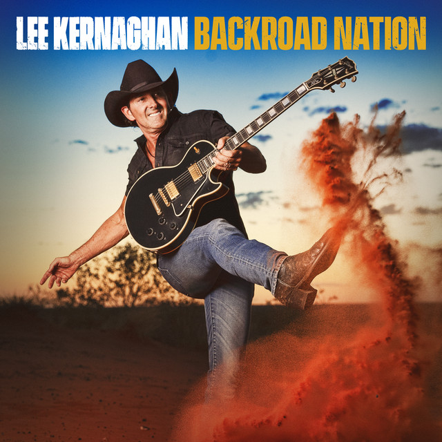 Album cover for Backroad Nation by Lee Kernaghan