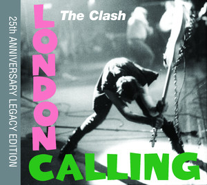 The Clash London Calling cover