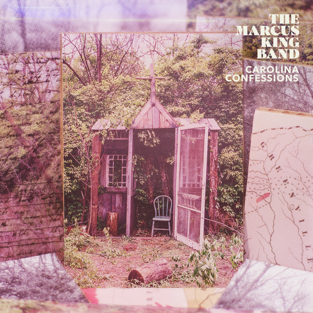 Album cover for Carolina Confessions by The Marcus King Band