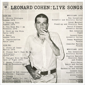 Live Songs Albumcover