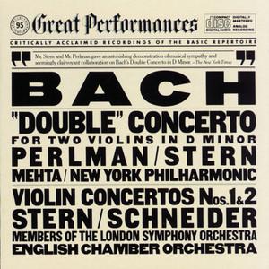 Isaac Stern, Itzhak Perlman, New York Philharmonic, Zubin Mehta, Members of the London Symphony Orchestra, Alexander Schneider