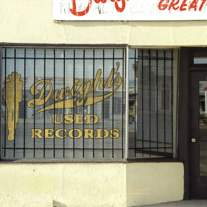 Dwight's Used Records album