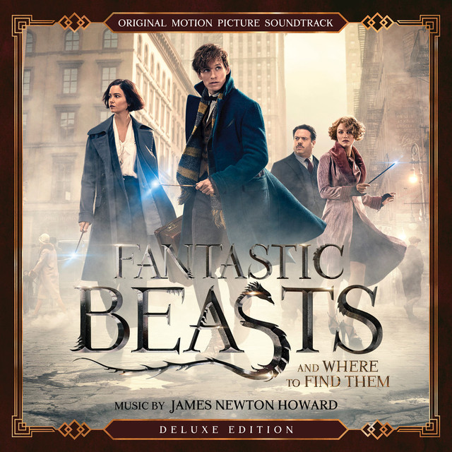 Album cover for Fantastic Beasts and Where to Find Them: Original Motion Picture Soundtrack (Deluxe Edition) by James Newton Howard