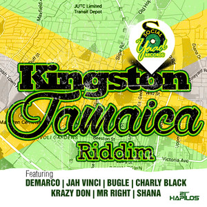 Kingston Jamaica Riddim Albumcover