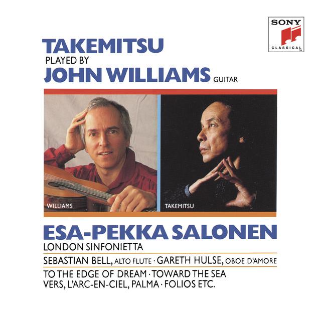 John Williams Plays Takemitsu Albumcover