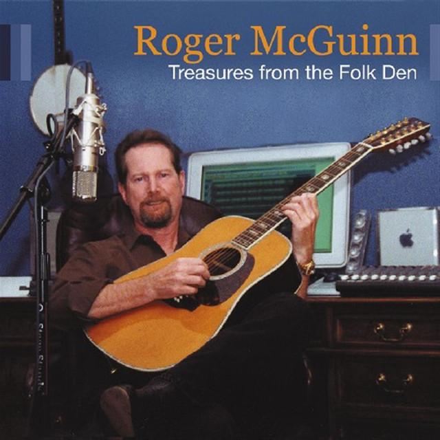 Roger McGuinn Treasures from the Folk Den album cover