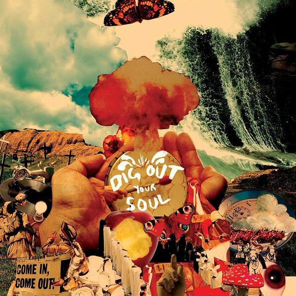 Skivomslag för Oasis: Dig Out Your Soul