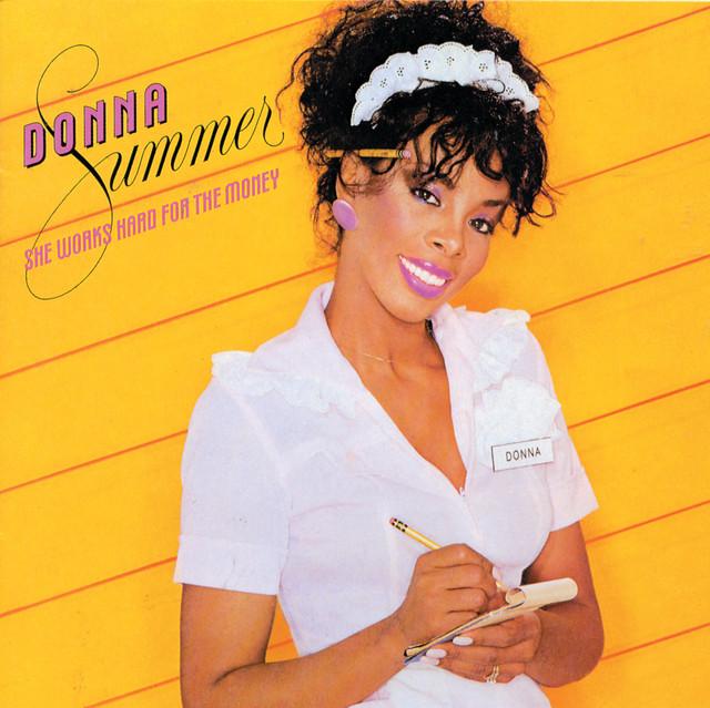 She Works Hard for the Money (83) album cover