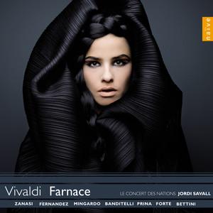 Vivaldi: Farnace Albumcover