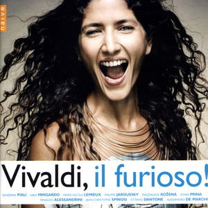 Vivaldi: Il Furioso! Albumcover