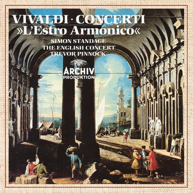 Vivaldi: L'estro armonico Op.3 Albumcover