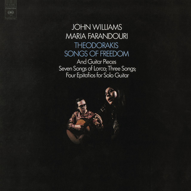 John Williams Plays Theodorakis - Songs of Freedom Albumcover