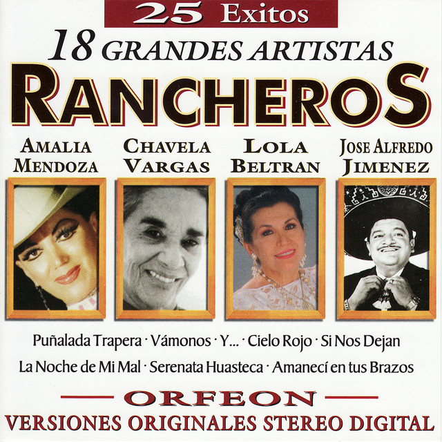 Various Artists 25 Exitos Rancheros album cover
