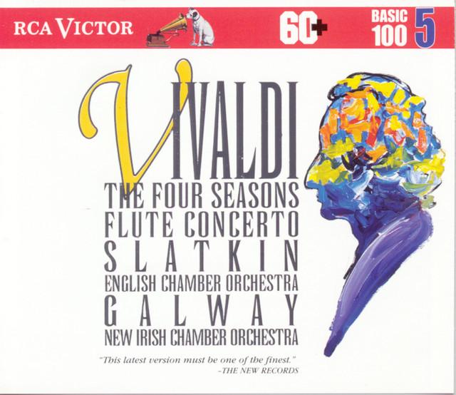 Vivaldi: Four Seasons, Basic 100 Vol.5 Albumcover
