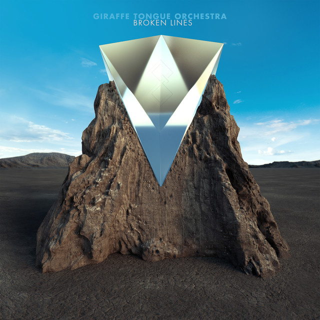Album cover for Broken Lines by Giraffe Tongue Orchestra