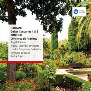 Giuliani: Guitar Concertos No. 1&3, Rodrigo: Concierto de Aranjuez album