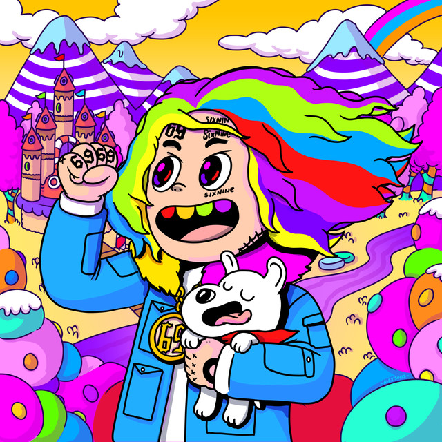 Album cover for Day69: Graduation Day by 6ix9ine
