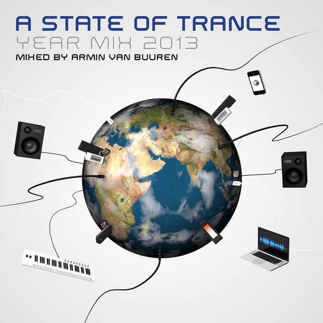 Armin van Buuren A State of Trance Year Mix 2013 album cover