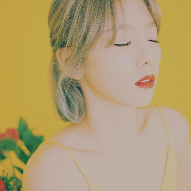 Album cover for My Voice - The 1st Album by TAEYEON