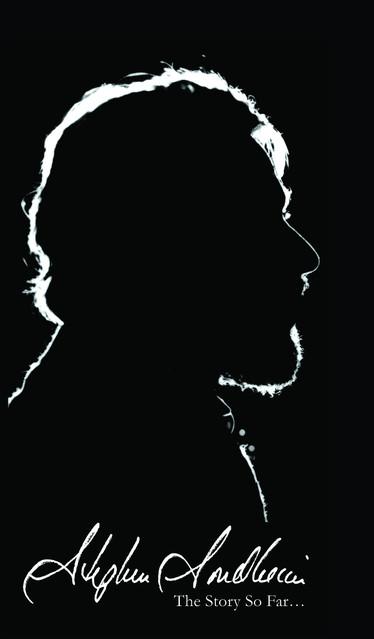 Stephen Sondheim The Story So Far... album cover