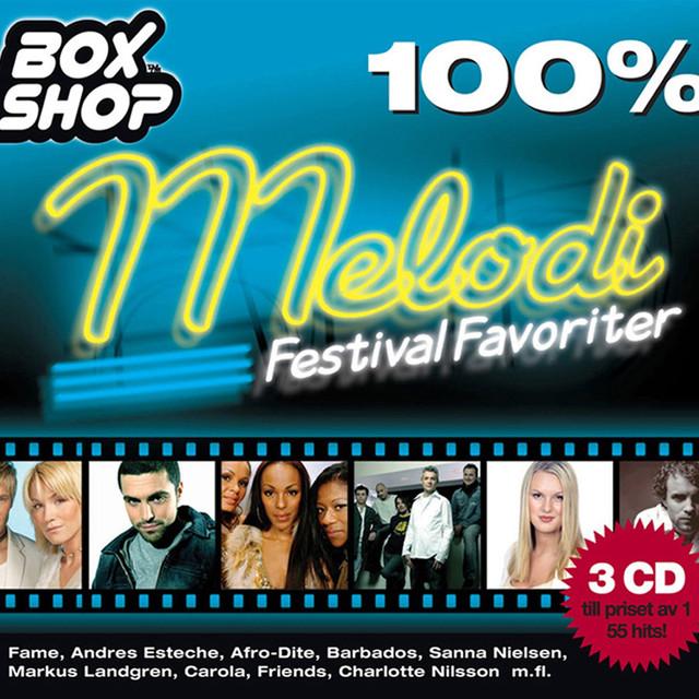 Various Artists Melodifestivalfavoriter album cover