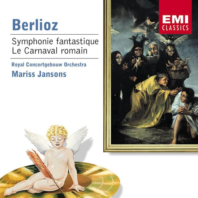 Berlioz - Orchestral Works Albumcover