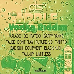 De Apple Vodka Riddim V.2 Albumcover