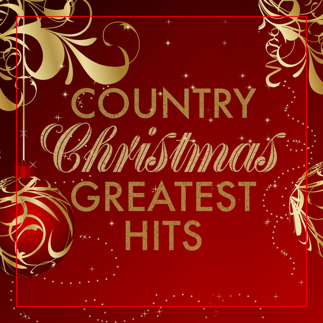 Album cover for Country Christmas Greatest Hits by Various Artists
