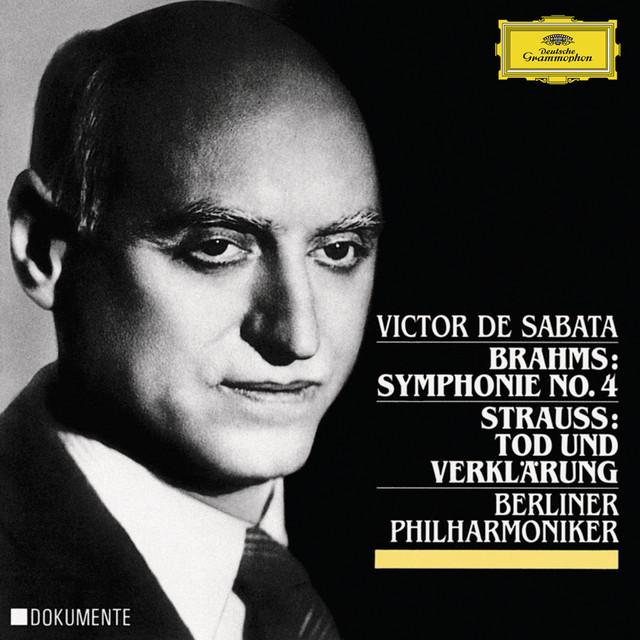 Brahms: Symphony No.4 In E Minor, Op.98 / Strauss, R.: Tod und Verklärung, Op.24 Albumcover