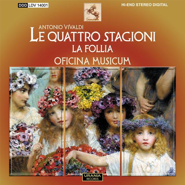 Vivaldi: Le quattro stagioni & La follia Albumcover