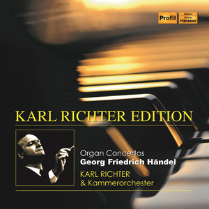 Handel: Organ Concertos Albümü