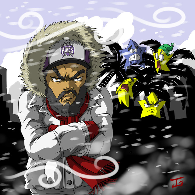 Album cover for Cold Winter by Blvck Moses