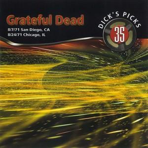 Dick's Picks Vol. 35: 8/7/71 (Golden Hall, San Diego, CA) & 8/24/71 (Auditorium Theater, Chicago, IL) Albumcover