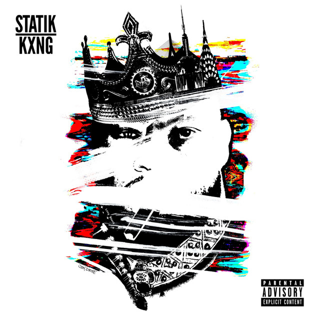 Album cover for STATIK KXNG by Statik Selektah, KXNG Crooked