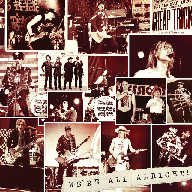 Cheap Trick We're All Alright! album cover