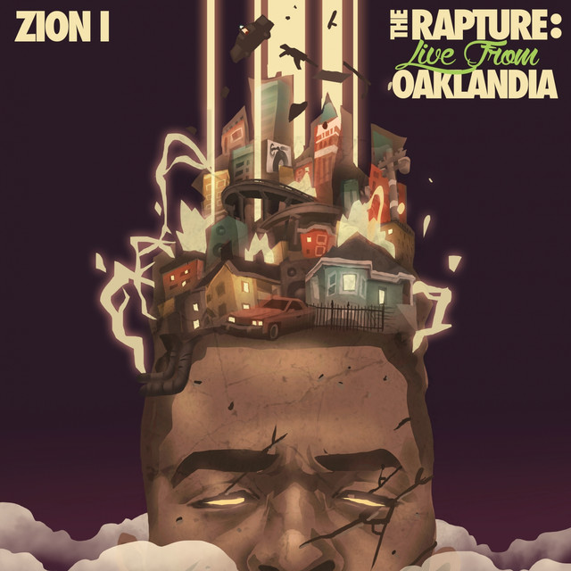 The Rapture: Live From Oaklandia Albumcover