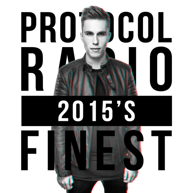 Album cover for Protocol Radio - 2015's Finest by Nicky Romero
